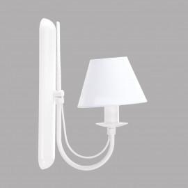 Kinkiet  biały  BASJAN  2155