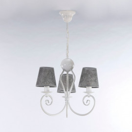 Żyrandol klasyczny  KLIWIA WHITE  3585