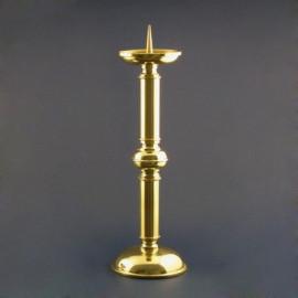Lichtarz pojedynczy złocony