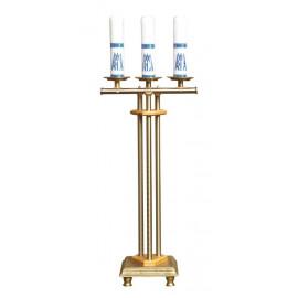 Świecznik na trzy świece