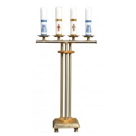 Świecznik na cztery świece