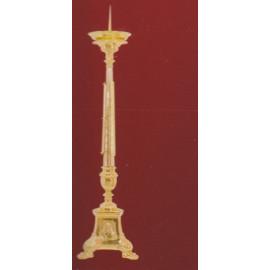 Lichtarz mosiężny bogato zdobiony - 80 cm
