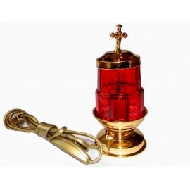 Lampka wieczna, elektryczna, stojąca - 17 cm.
