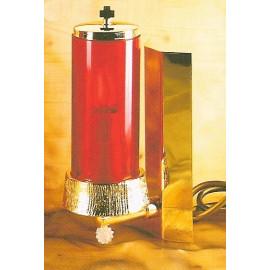 Lampka wieczna wisząca, elektryczna - 21 cm.