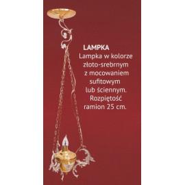 Lampka wieczna sufitowa lub ścienna (2)