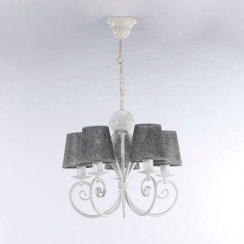Żyrandol klasyczny  KLIWIA WHITE  3584