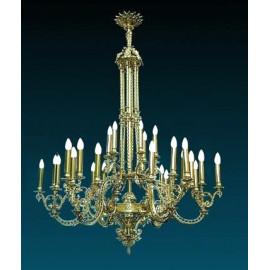 Żyrandol styl barokowy (1)