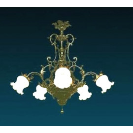 Żyrandol styl barokowy (8)