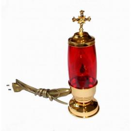 Lampka wieczna  elektryczna, stojąca - 12 cm.